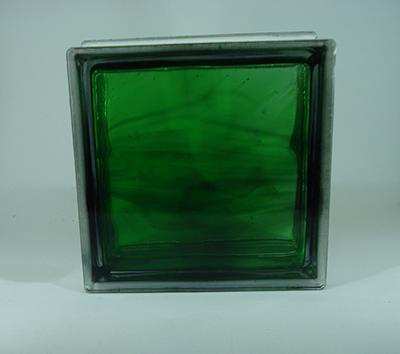 بلوک شیشه ای سبز