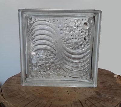 بلوک شیشه ای سفید a1