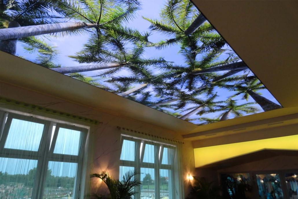 سقف کشسان سالن